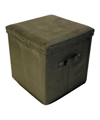 Sage Padded Folding Storage Ottoman