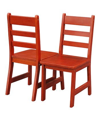 Cherry Kids' Chair - Set of Two