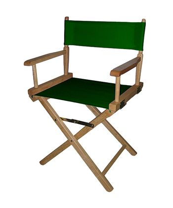 Green & Natural Director's Chair