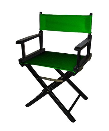 Green & Black Director's Chair