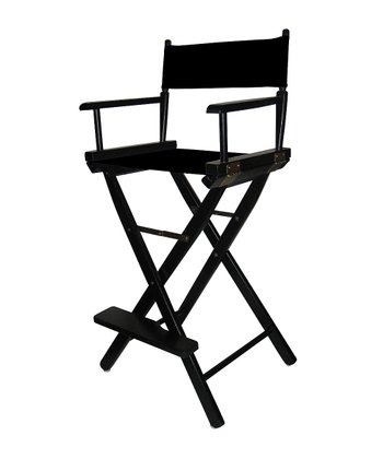 Black Bar Height Director's Chair