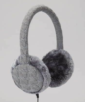 Gray Tech Headphone Earmuffs
