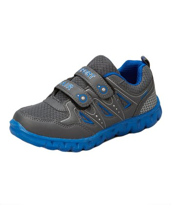 Neway Shoes Gray & Light Blue Sport Air Running Shoe