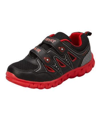 Neway Shoes Black & Red Sport Air Running Shoe