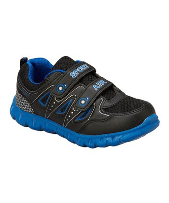 Neway Shoes Black & Blue Sport Air Running Shoe