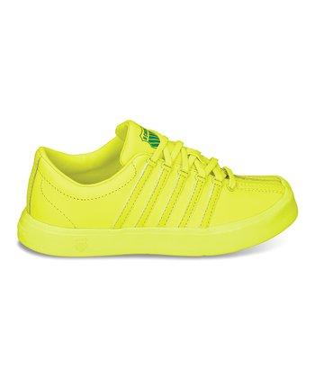 K-Swiss Neon Citron Classic Lite Sneaker