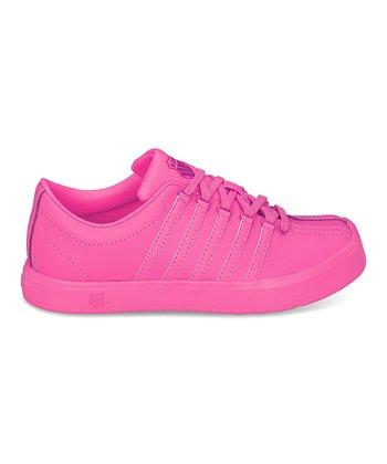 K-Swiss Neon Pink Classic Lite Sneaker