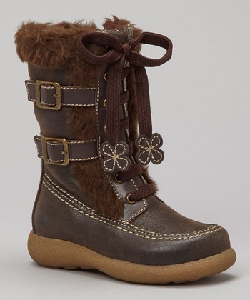 Brown Distressed Lil Fresno Boot