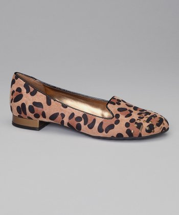 Natural Leopard Curran Flat