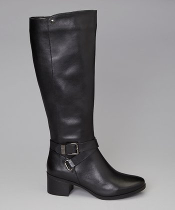 Black Jacoba Riding Boot