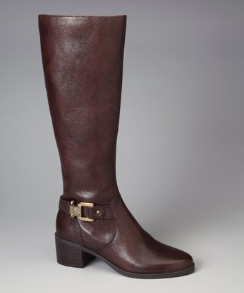 Dark Brown Joetta Riding Boot