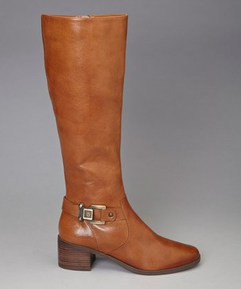Dark Natural Joetta Riding Boot