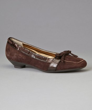 Dark Brown Suede Justain Loafer