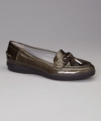 Pewter Patent Lalo Loafer