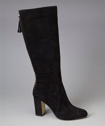 Black Suede Notme Boot