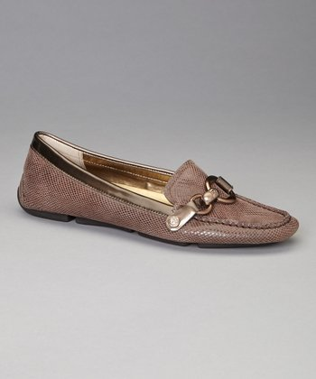 Bronze Reptile Yetta Loafer