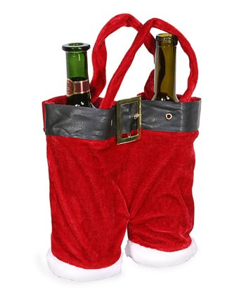 Santa Pants Wine Holder
