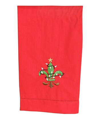 Christmas FDL Towel (Red/Green)