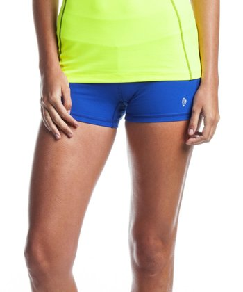 Royal Blue Galaxy Shorts