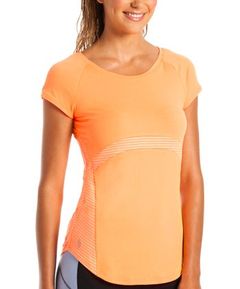 Orange Pop Barbados Top