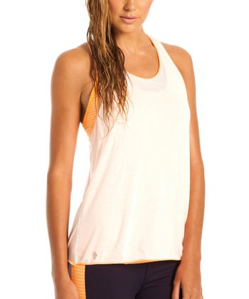 White & Orange Saint Tropez Light Tank