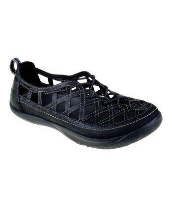 Black Innovate Slip-On Shoe