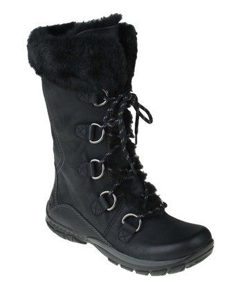 Black Shazaam Shearling Boot
