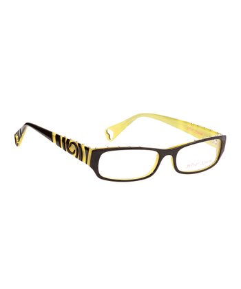 Betsey Johnson Raven Punk Rock Eyeglasses