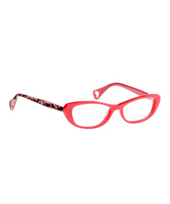 Betsey Johnson Rose Flirtatious Eyeglasses