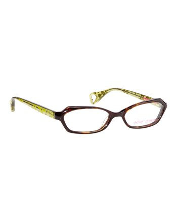 Betsey Johnson Espresso Galaxy Glam Eyeglasses