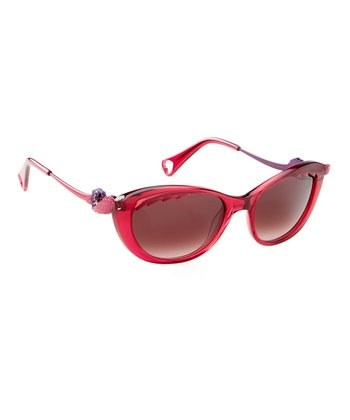 Red Rockin Rose Sunglasses