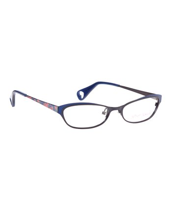 Indigo Fancy Eyes Eyeglasses