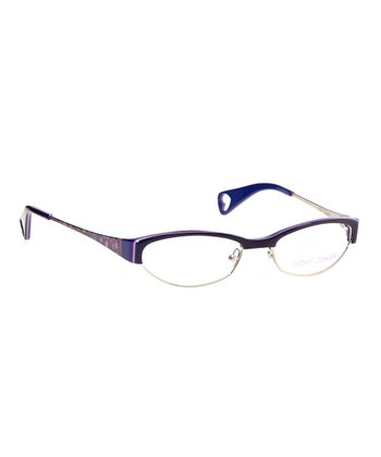 Betsey Johnson Indigo Cutie Pie Eyeglasses