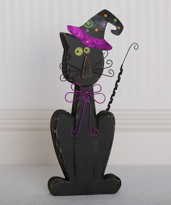 Halloween Cat 14'' Decoration