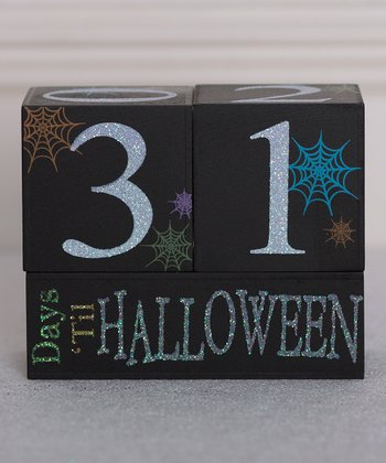 Halloween Countdown Block Set