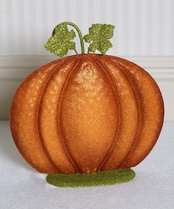 10'' Pumpkin Decoration
