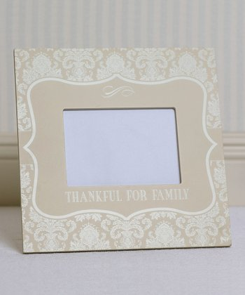 'Thankful for Family' Frame