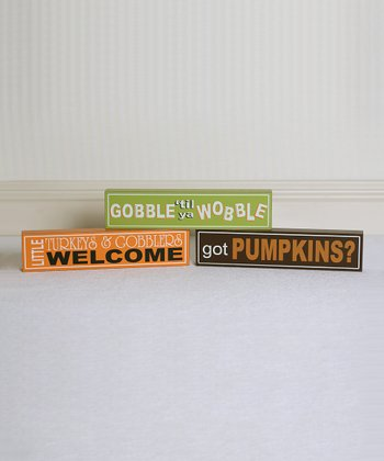 Fall Slogan Block Set