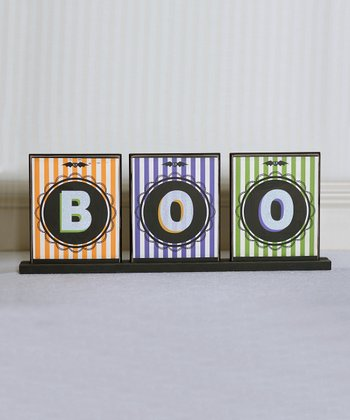 'Boo' Decorative Sign