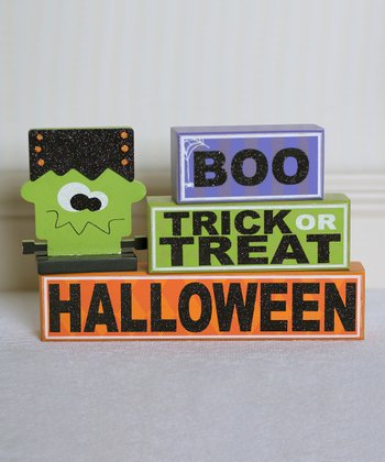 Frankenstein Decorative Block Set