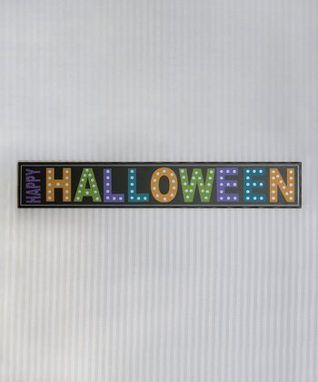'Happy Halloween' Wall Sign