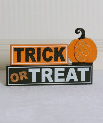 'Trick or Treat' Decorative Block Set