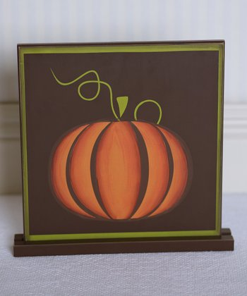Fresh Pumpkin Decorative Sign