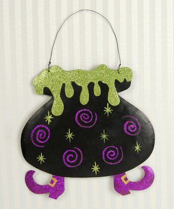 Witch's Cauldron Wall Decoration