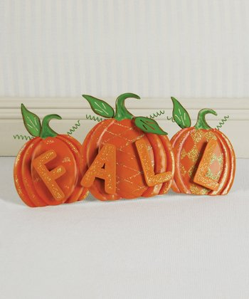 'Fall' Pumpkins Decoration