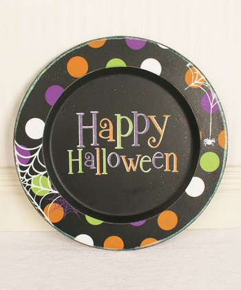 'Happy Halloween' 15'' Decorative Plate