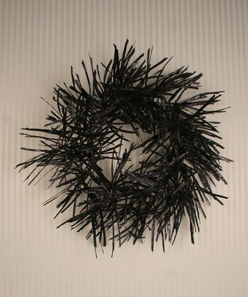 Haunted Twister Grass Wreath