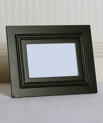 7.5'' Black Wood Frame