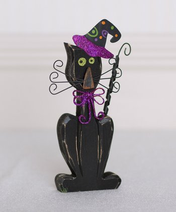 Halloween Cat 7'' Decoration