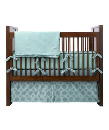 Sea Glass Roll Crib Bedding Set
